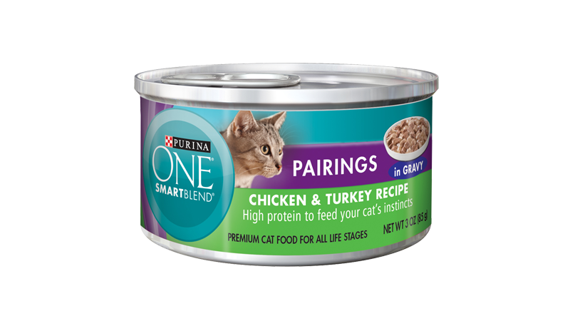 Smartblend® Pairings Chicken and Turkey Recipe In Gravy