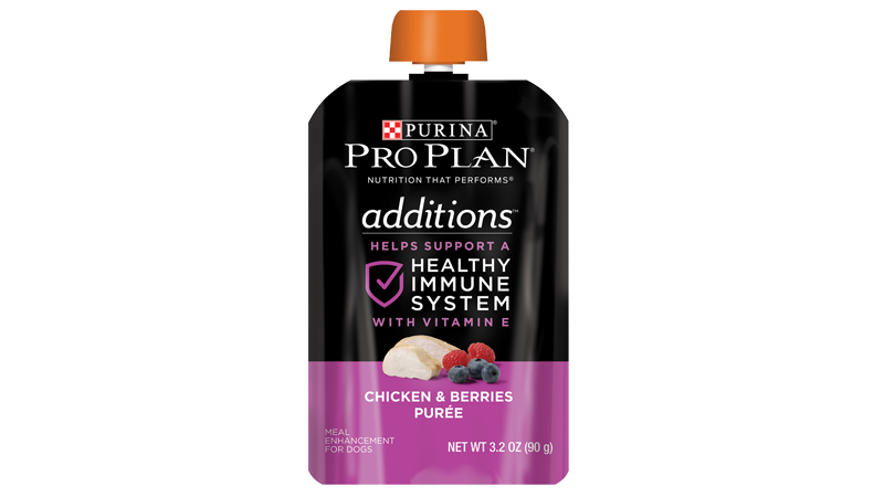 Additions™ Chicken & Berries Purée Meal Enhancement