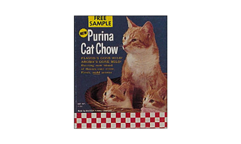 Introducing Purina Cat Chow