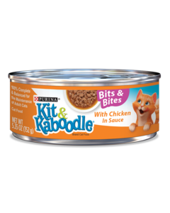 Kit & Kaboodle Bits and Bites with Chicken in Sauce Wet Cat Food