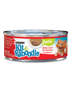 Kit & Kaboodle Pate with Liver and Chicken in Sauce Wet Cat Food