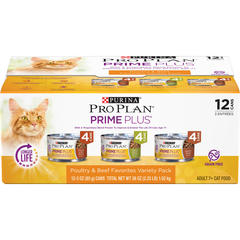Pro Plan Prime Plus Beef & Chicken variety Pack
