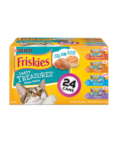 Friskies Tasty Treasures 24 Count Wet Cat Food Variety Pack