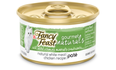 fancy feast gourmet naturals chicken pate
