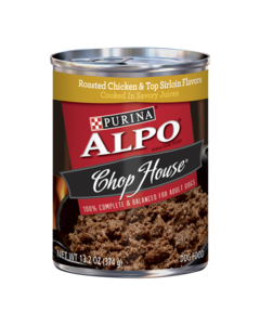 Alpo Chop House® ROASTED CHICKEN & TOP SIRLOIN FLAVORS COOKED IN SAVORY JUICES