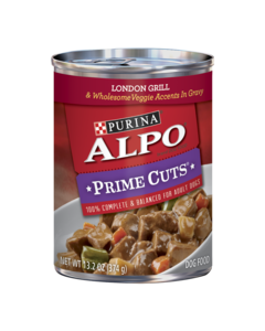 Alpo Prime Cuts® London Grill & Wholesome Veggie Accents in Gravy