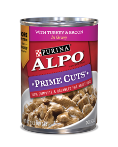 Alpo-Prime-Cuts-with-Turkey-and-Bacon-in-Gravy-Wet-Dog-Food