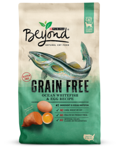 Beyond® Grain Free Ocean Whitefish & Egg Recipe Natural Dry Cat Food