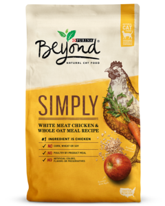 Simply White Meat Chicken & Whole Oat Meal Recipe Dry Cat Food