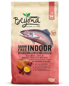 Beyond Indoor Cat Grain Free Salmon, Egg & Sweet Potato Recipe Dry Cat Food