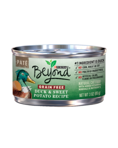 Paté Grain Free Duck & Sweet Potato Recipe Wet Cat Food