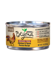 Beyond Pate Chicken and Sweet Potato