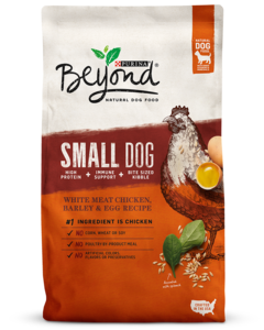 Beyond Small Dog White Meat Chicken, Barley & Egg