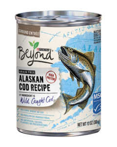 Beyond Grain Free Alaskan Cod Recipe Wet Dog Food
