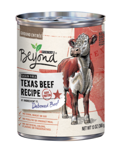 Beyond Grain Free Texas Beef Recipe Wet Dog Food