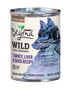 Wild Prey-Inspired Turkey, Liver & Duck Recipe Natural Dog Food