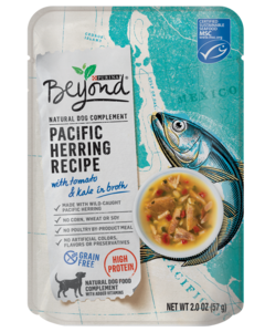 Beyond Pacific Herring Recipe Dog Toppers Front