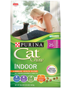 Cat Chow Indoor Front