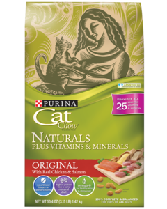 Cat Chow Natural Originals Front