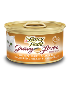Gravy Lovers™ Chicken Hearts & Liver Feast in Grilled Chicken Flavor Gravy
