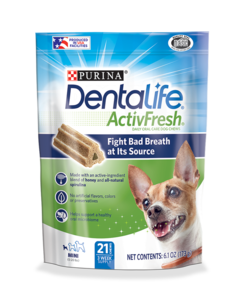 Dentalife ActivFresh Mini Treats small/med chews