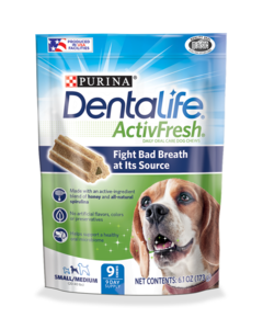 Dentalife ActivFresh small/med chews