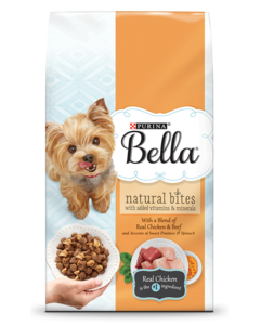 Bella Dry Dog Food With Real Chicken & Beef