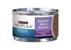 Purina Pro Plan FOCUS Sensitive Skin & Stomach Tuna & Oat Meal Wet Cat Food