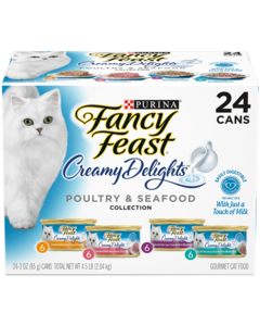 Creamy Delights Collection Seafood Poultry - 24 cans