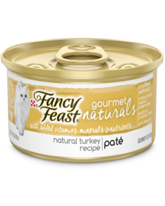 Fancy feast Gourmet Naturals Turkey Pate