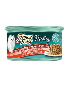 Fancy Feast Shredded White Meat Chicken Fare