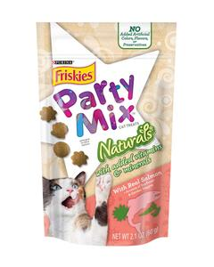 Party Mix Naturals with Real Salmon