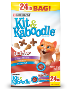 Kit & Kaboodle Outdoor Dry Cat Food