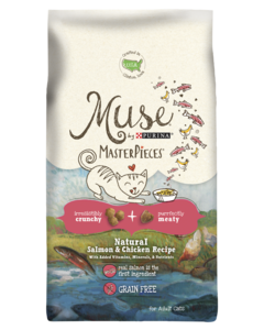 Muse MasterPieces Natural Salmon & Chicken Recipe Dry Cat Food
