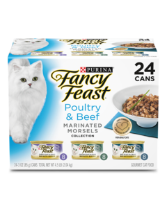 Fancy Feast Marinated Morsels Variety Pack