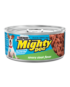 Mighty-Dog-Savory-Steak-Flavor-Wet-Dog-Food