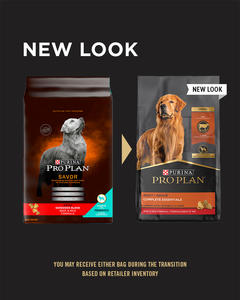Purina Pro Plan Complete Essentials Shredded Blend Beef & Rice Formula