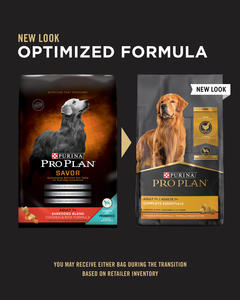 Purina Pro Plan Adult 7+ Shredded Blend Chicken & Rice Formula
