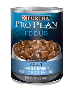 Focus Adult Large Breed Beef And Rice Entree