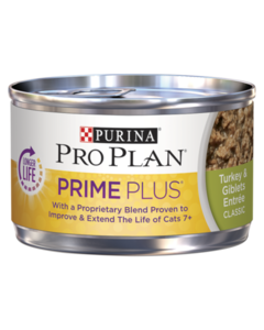 Pro Plan Cat Prime Plus Turkey Giblets