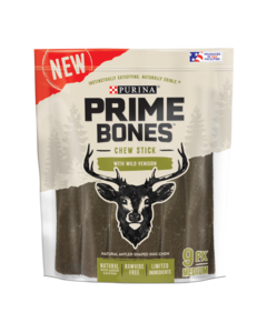 Prime Bones Venison Treats for Medium Dog