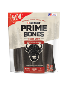 Prime Bones Bison Treats for Medium Dog