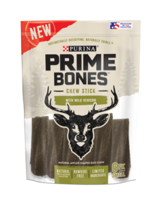 Prime Bones Venison Treats for Small Dog