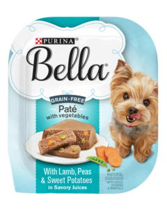 Bella Grain Free Pate Lamb Package Shot