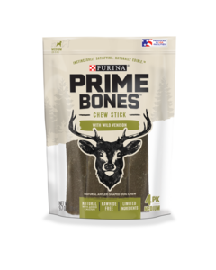 Prime Bones Chew Stick With Wild Venison for Medium Dogs