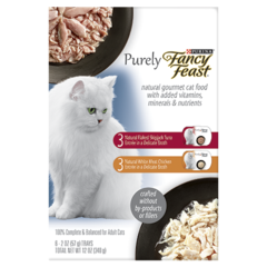 Fancy Feast Purely Natural Variety Pack Shot