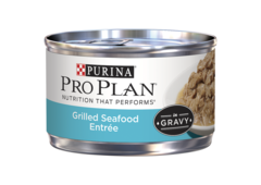 Pro Plan Grilled Seafood Entree in Gravy Wet Cat Food