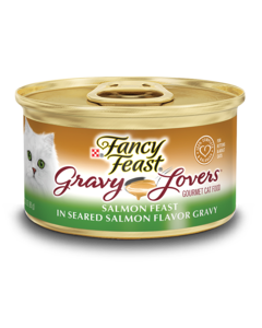 Gravy Lovers Salmon Feast in Seared Salmon Flavor Gravy