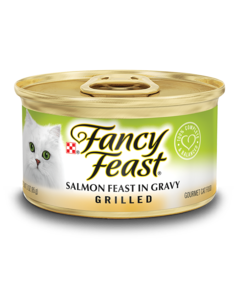 Salmon Feast In Gravy