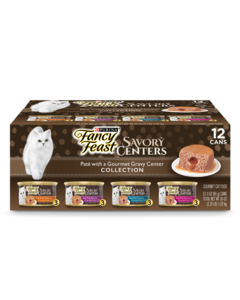 Fancy Feast Savory Centers Variety Pack Shot